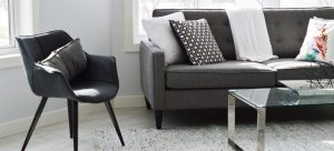 A modern living room which can inspire you when arranging furniture after the move.