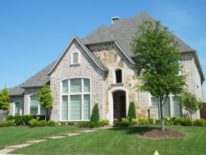 Move from the big city to a large brick beautiful home with a large green yard.