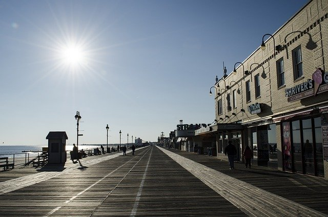 A Boardwalk in one of the best New Jersey places
